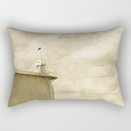 Contained Silence Rectangular Pillow