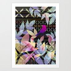 Garden Music Art Print