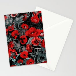 Poppy Garden Stationery Cards