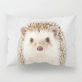 Hedgehog - Colorful Pillow Sham