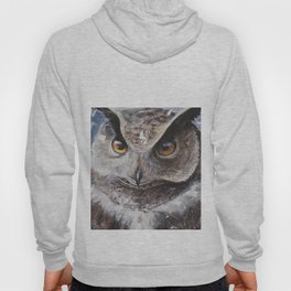 "The Owl - ""Watch-me!"" - Animal - by LiliFlore Hoody"