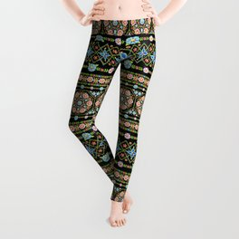 Millefiori Folkloric Stripe Leggings