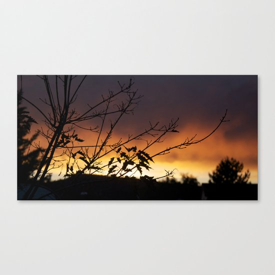 Sundown Canvas Print