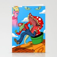 mario Stationery Cards featuring Mario? by ShelbyDenham