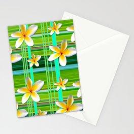 Plumaria Plaid Stationery Cards