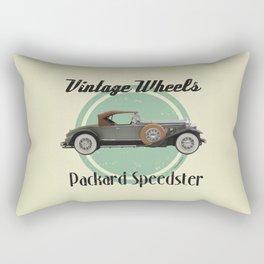 Vintage Wheels - Packard Boattail Speedster Rectangular Pillow