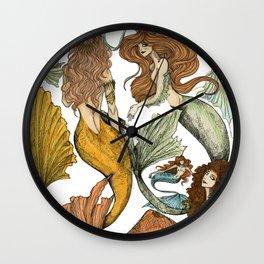 Séquito de Sirenas Wall Clock