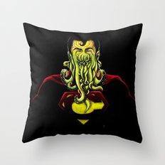SuperCthulhu Throw Pillow