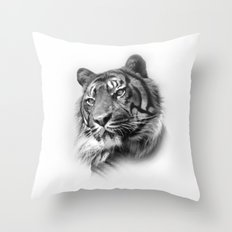 Tiger 2 Throw Pillow