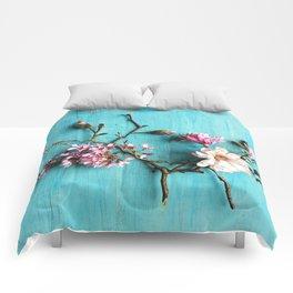 Flowers of Spring Comforters