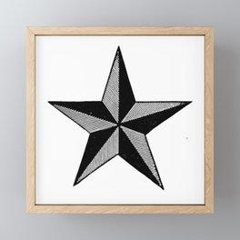 Star Framed Mini Art Print