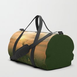The deer into the lights Duffle Bag