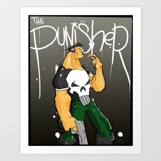 The Punisher Art Print