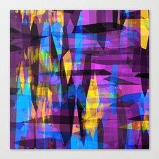 Colorreaction Canvas Print
