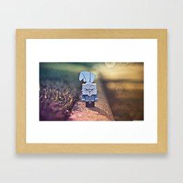 Rabbit Run Framed Art Print