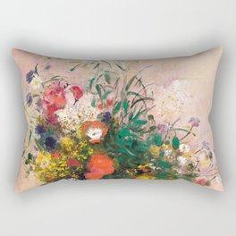 Summer has too short a lease Rectangular Pillow