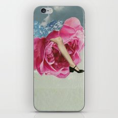 The Lady who Lived in Roses iPhone & iPod Skin