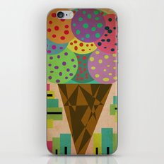 fancy ice cream iPhone & iPod Skin