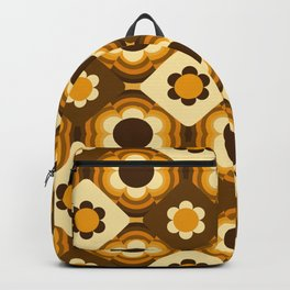 Daisy Patchwork Backpack