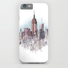 New York cityscape - Architectural illustration iPhone 6s Slim Case