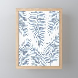 Fern Pattern Serenity Framed Mini Art Print