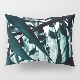 Inside of Palm Trees Pillow Sham