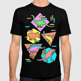Nineties Dinosaur Pattern T-shirt