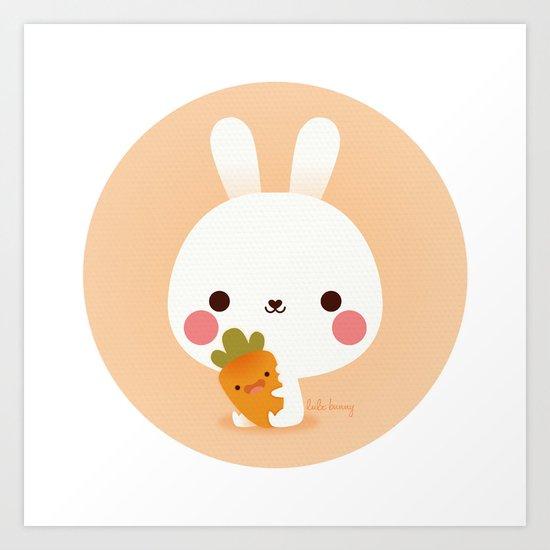 Friday Carrot Art Print