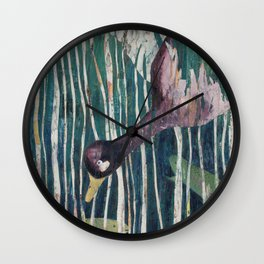 In the Reeds Wall Clock