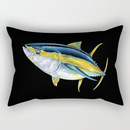 Yellowfin Tuna Rectangular Pillow