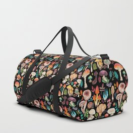 Mushroom heart Duffle Bag
