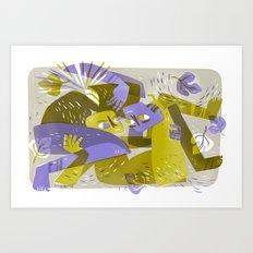 One Flesh (by Pam Wishbow) Art Print