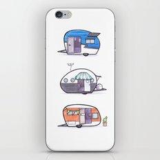 Caravans iPhone & iPod Skin