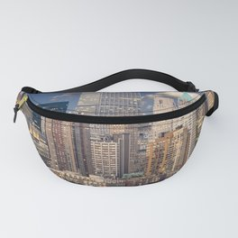 Downtown NYC at twilight Fanny Pack