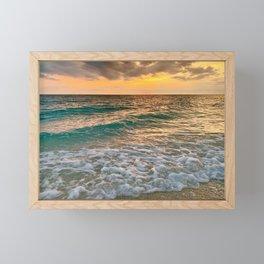 Siesta Sunset Framed Mini Art Print
