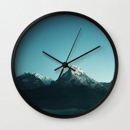 Silence of Love Wall Clock
