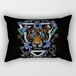 Powerful Tiger  Rectangular Pillow