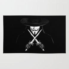 V for Vendetta (e7) Rug