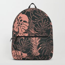 Tropical pattern 034 Backpack