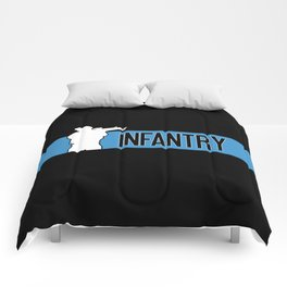 Infantry Blue Comforters