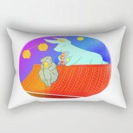 Lunar New Year in February Rectangular Pillow