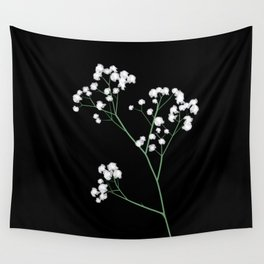 Baby's Breath Wall Tapestry