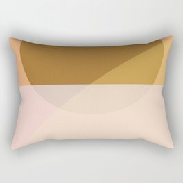 Maple Overlap Print Rectangular Pillow