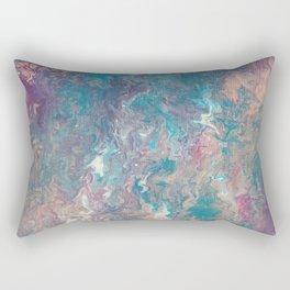 A Paint Circus Rectangular Pillow