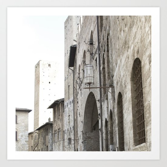 What These Walls Have Seen - Tuscany Art Print