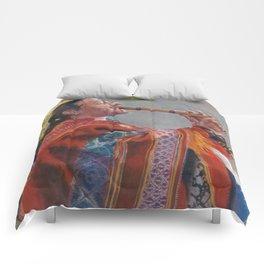 Peruvian Flutist Comforters