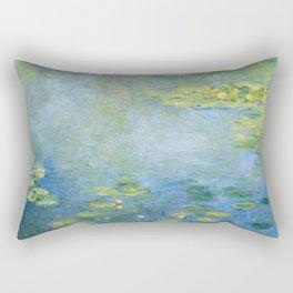 Water Lilies 1906 by Claude Monet Rectangular Pillow