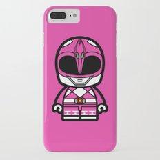 Power Chibi Pink Ranger iPhone 7 Plus Slim Case