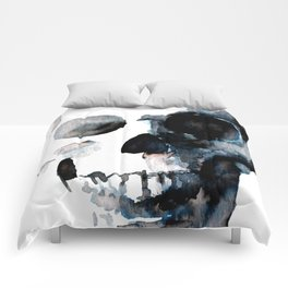 Skull White Comforters