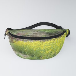 Japanese maple yellow flowers Fanny Pack